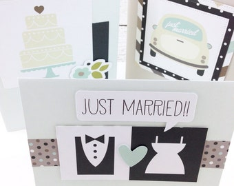 Handmade Wedding Greeting Card