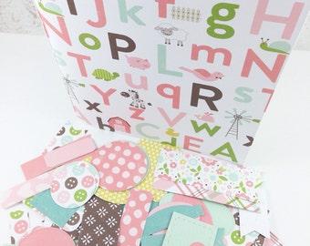 Baby Girl Mini Album Kit