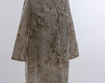"""Dress """"Sixties meet Toile de Jouy"""""""