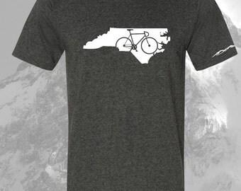 North Carolina  Bicycle T Shirt