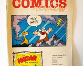 Comics Revue, comics reviews magazine, Hagar the horrible, comic strips, comic book, 1984