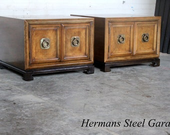 Pair of Thomasville End Tables / Night Stands (1970)