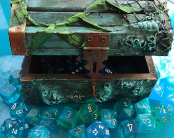 MADE TO ORDER- Ocean Treasure Chest! -Small