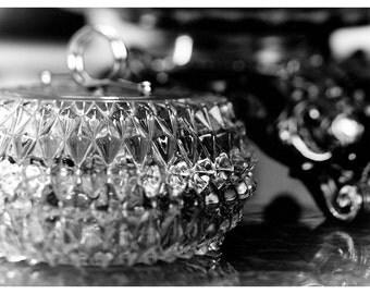 Penny Table - Original Silver Gelatin Print - Hand-Printed BW Photograph
