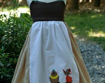 Cinderella Maid Cotton Every Day Wear Dress