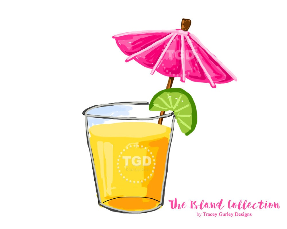 Tropical Cocktail Clipart