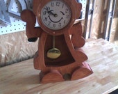 Handcrafted Girl clock from the movie beauty and the beast stained with choice of color