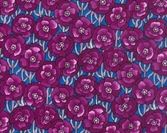 Fabric Freedom 'Reduced Price' F853-6 Light Fantastic Poppies Patchwork Quilting