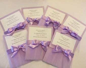 Tutu Baby Shower invitations. Set of 10