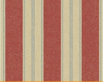 Limited Edition Red Stripe by Whistler Studios for Windham Fabrics, 1/2 yard, 40709-2