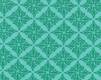 One Yard Daydreams - Vestige in Jade Green - Cotton Quilt Fabric - designed by Kate Spain for Moda Fabrics - 27178-11 (W2779)