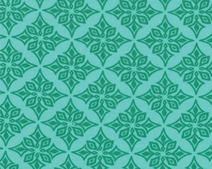 Half Yard Daydreams - Vestige in Jade Green - Cotton Quilt Fabric - designed by Kate Spain for Moda Fabrics - 27178-11 (W2779)