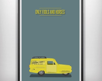 Only fools and horses minimal minimalist movie poster