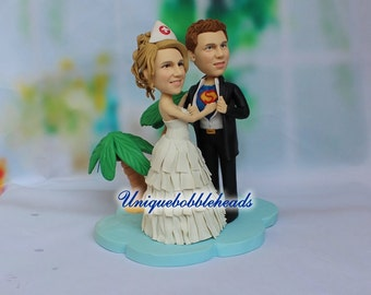 superman and superwoman wedding cake topper superman cake topper etsy 20613