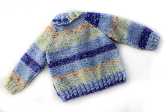 Baby Shawl Collar Knitting Pattern : KNITTING PATTERN, Shawl Collar Cardigan, 6 Sizes, Baby, Toddler, Kids Sizes, ...