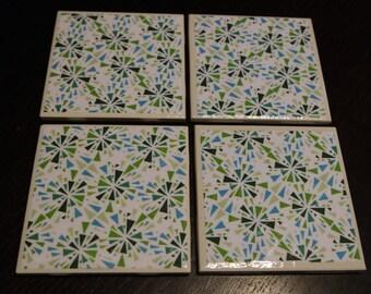Ceramic Tile Coasters