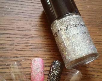 "New! - Glitter Polish - ""Diamonds are Forever"" 15mL"