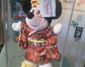 Japan Disneyland mini mouse plush