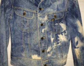 Vintage Lee Bleached Jean Jacket