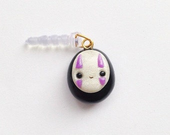 Spirited Away Kawaii No Face Phone Charm