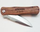 Engraved Pocket Knife - Personalized Knife - Fishing Knife - Hunting Knife - Survival Knife - Engraved Knife - Best Man Gift -Groomsmen Gift