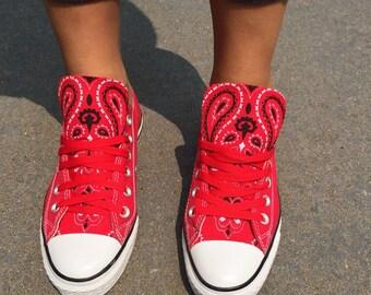 Bandana Converse Chuck Taylor Shoes