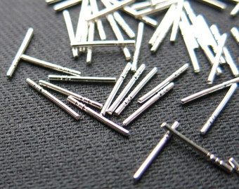 Posts, sticks, for soldering, Sterling Silver Ag925