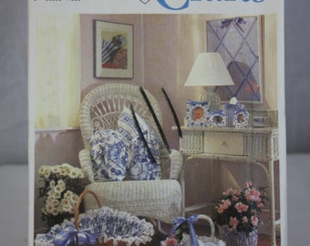 Simplicity Crafts Pattern No. 7312 (One Size) 1991 Crafts Uncut