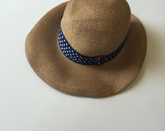 Beautiful Fedora Panama straw hat Eugenia KIm BNWT