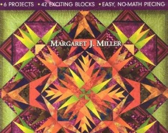 Stunning AnglePlay(tm) Quilts: 6 Projects 42 Exciting Blocks Easy, No-Math Piecing Soft Cover Book