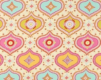 Free Spirit - Kumari Garden Chandra Red Cotton Fabric
