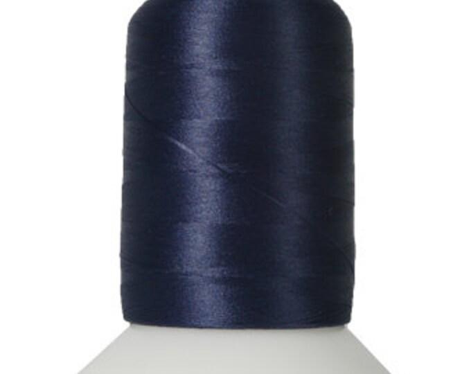 Thread Art - Wooly Nylon Thread - 1000m Spools - Navy - SKU:THWL9136