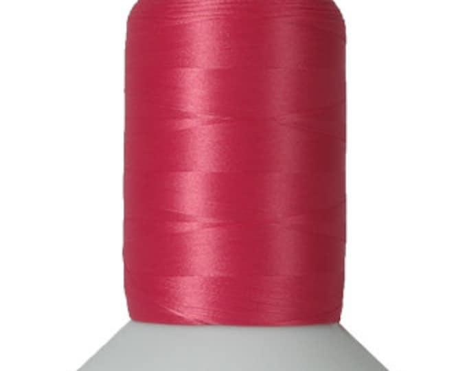 Thread Art - Wooly Nylon Thread - 1000m Spools - Dark Pink  - SKU:THWL9210