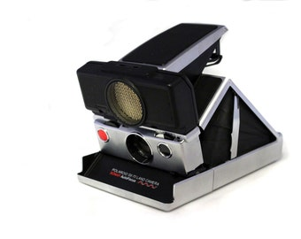 Polaroid Sx 70 Land Camera Sonar Autofocus [includes original box]