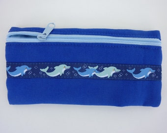 "Cell phone pouch ""Dolphin"""