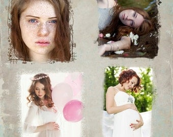 Photo Masks, Clipping Masks Bundle - Set of 20 - Personal and Commercial Use