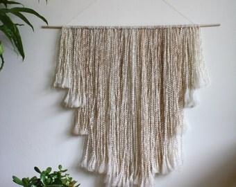 Handmade Wall Hanging // Fiber Art // Wall Decor