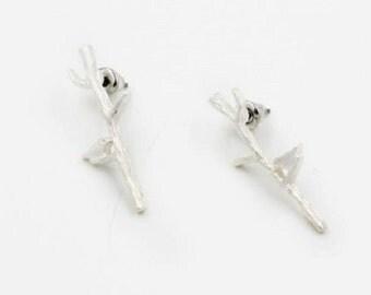 Bird on a Branch Earrings