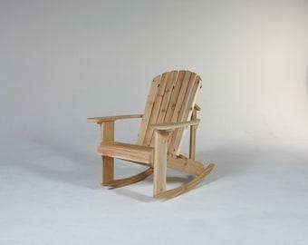 Big Boy Adirondack Rocking Chair