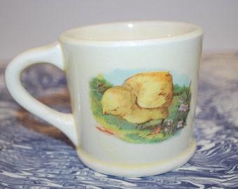 Sweet Easter Chic Childs Mug
