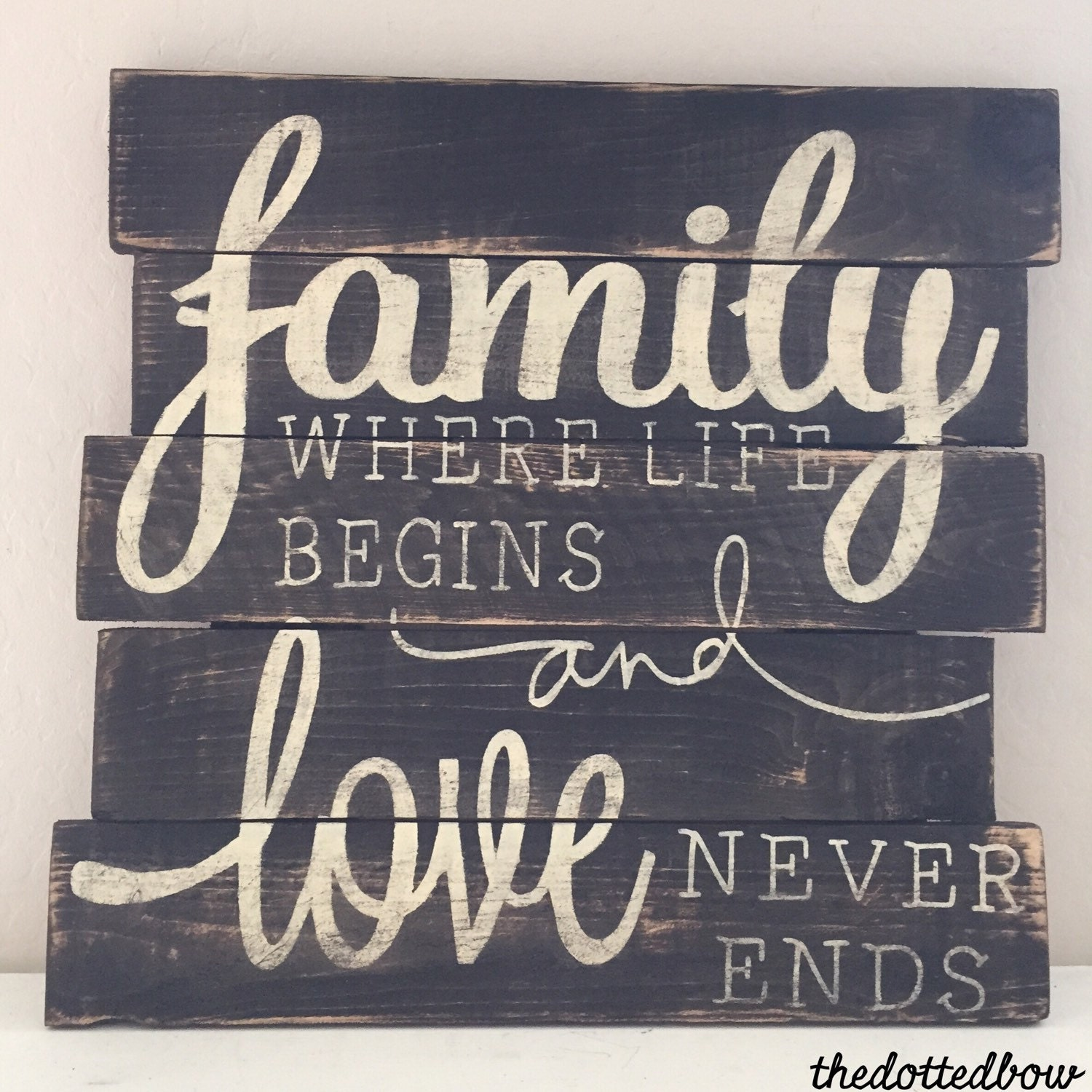 Family where life begins...and love never by ...  |Family Love Life
