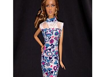 Dolls dress for Fashion royalty,,Silkstone,All barbie doll- No.854
