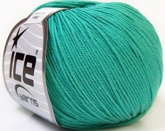 baby summer, emerald green, cotton yarn, ice yarn, cotton, acrylic, summer yarn, knit, crochet, soft cotton yarn