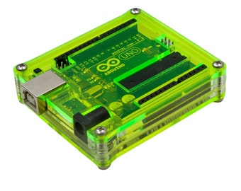 Arduino Uno Lazer Lime Case by C4Labs