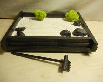 S01 - Small Desk or Table Top Zen Garden - DIY Kit