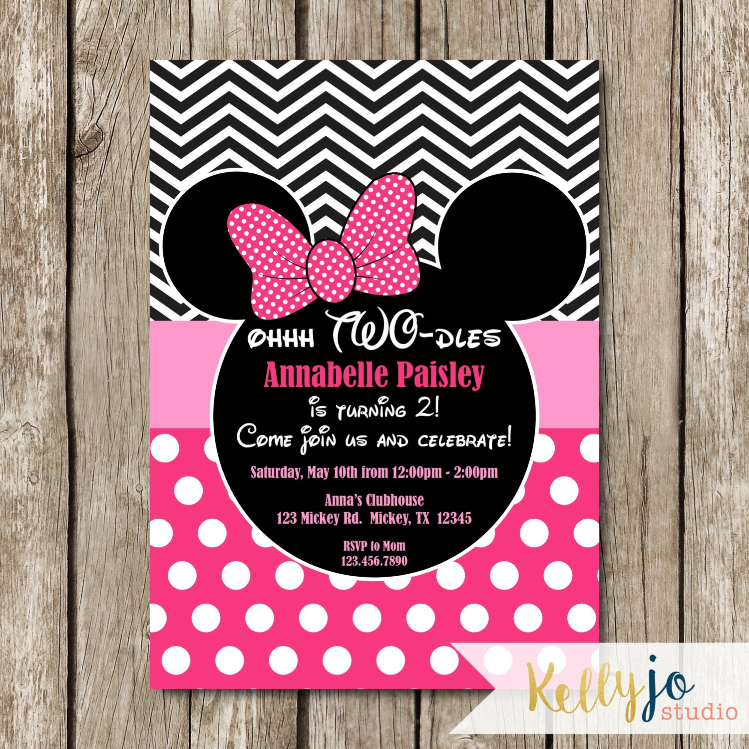 Minnie Mouse Invitations Ideas is awesome invitations design