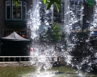 A Water fountain  Picture