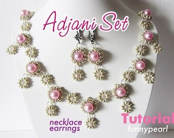 Set of jewelry Adjani. Tutorial PDF