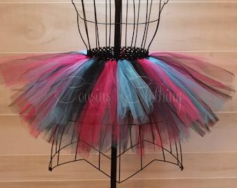 Running Tutu - Race Tutu - Adult Tutu - Neon Run - Color Run Tutu -  Marathon Tutu - 5K Tutu - Foam Dance - Fun Run Tutu - Black Pink Blue
