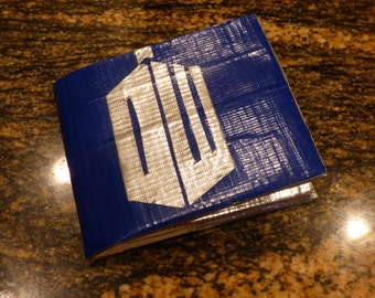 Doctor Who Duct Tape Wallet- Tardis Wallet- Cosplay- Doctor Who Fandom